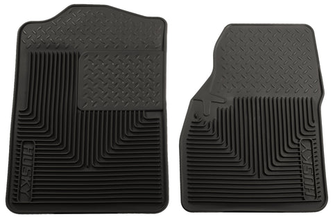 Husky Liners Heavy Duty Floor Mats - Black 51041 HUS51041