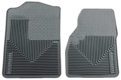 Husky Liners Heavy Duty Floor Mats - Grey 51042 HUS51042