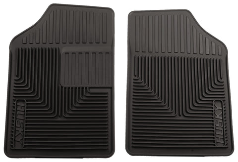 Husky Liners Heavy Duty Floor Mats - Black 51051 HUS51051