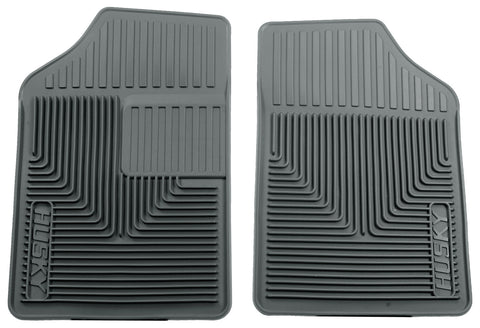 Husky Liners Heavy Duty Floor Mats - Grey 51052 HUS51052