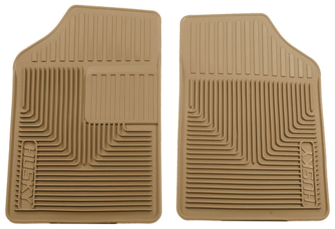 Husky Liners Heavy Duty Floor Mats - Tan 51053 HUS51053
