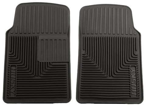 Husky Liners Heavy Duty Floor Mats - Black 51061 HUS51061