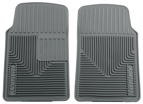 Husky Liners Heavy Duty Floor Mats - Grey 51062 HUS51062