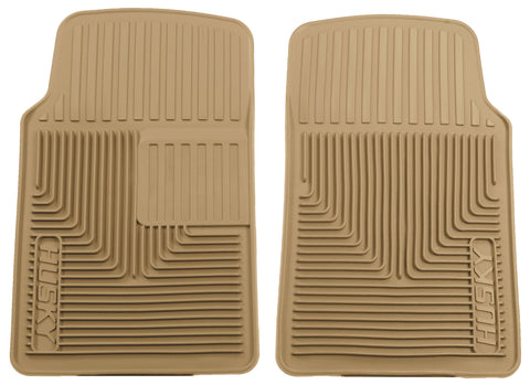 Husky Liners Heavy Duty Floor Mats - Tan 51063 HUS51063