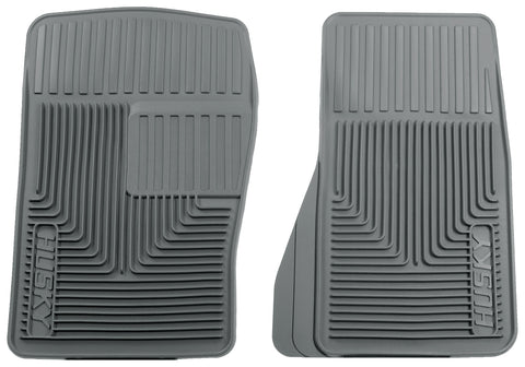 Husky Liners Heavy Duty Floor Mats - Grey 51072 HUS51072