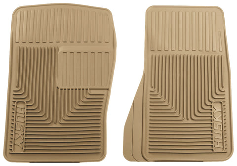 Husky Liners Heavy Duty Floor Mats - Tan 51073 HUS51073