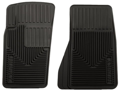 Husky Liners Heavy Duty Floor Mats - Black 51081 HUS51081