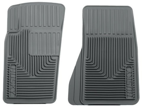 Husky Liners Heavy Duty Floor Mats - Grey 51082 HUS51082