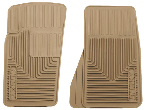 Husky Liners Heavy Duty Floor Mats - Tan 51083 HUS51083