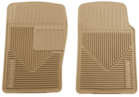 Husky Liners Heavy Duty Floor Mats - Tan 51093 HUS51093