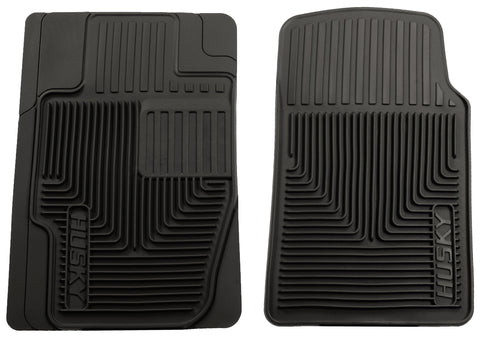 Husky Liners Heavy Duty Floor Mats - Black 51111 HUS51111