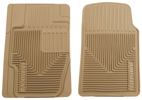 Husky Liners Heavy Duty Floor Mats - Tan 51113 HUS51113