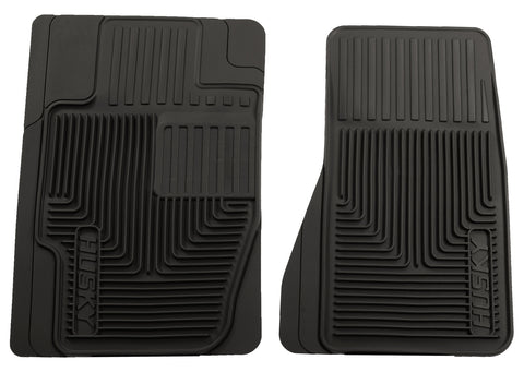 Husky Liners Heavy Duty Floor Mats - Black 51121 HUS51121