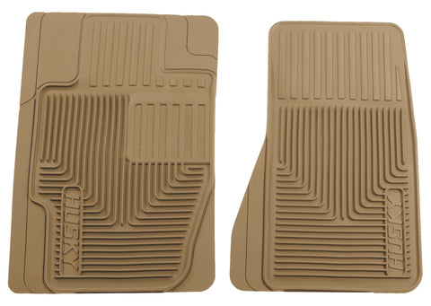 Husky Liners Heavy Duty Floor Mats - Tan 51123 HUS51123