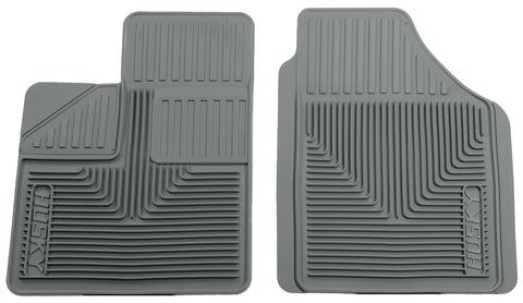 Husky Liners Heavy Duty Floor Mats - Grey 51142 HUS51142