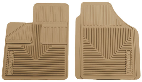 Husky Liners Heavy Duty Floor Mats - Tan 51143 HUS51143