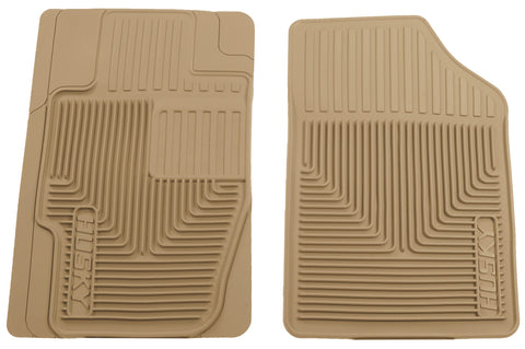 Husky Liners Heavy Duty Floor Mats - Tan 51173 HUS51173
