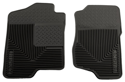 Husky Liners Heavy Duty Floor Mats - Black 51181 HUS51181