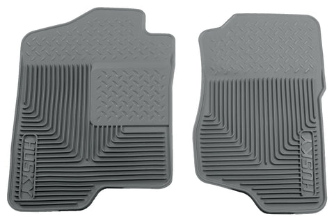 Husky Liners Heavy Duty Floor Mats - Grey 51182 HUS51182