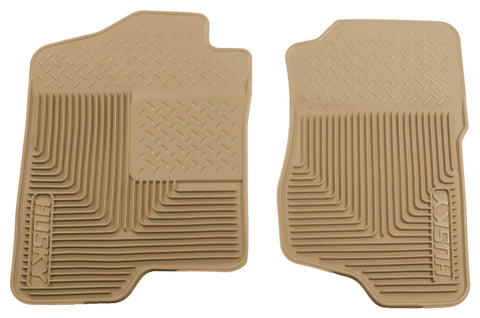 Husky Liners Heavy Duty Floor Mats - Tan 51183 HUS51183