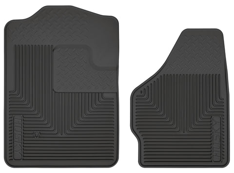 Husky Liners Heavy Duty Floor Mats - Black 51201 HUS51201
