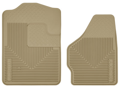 Husky Liners Heavy Duty Floor Mats - Tan 51203 HUS51203