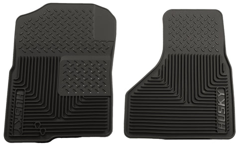 Husky Liners Heavy Duty Floor Mats - Black 51221 HUS51221