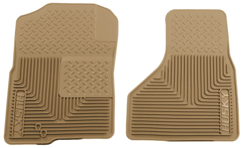 Husky Liners Heavy Duty Floor Mats - Tan 51223 HUS51223