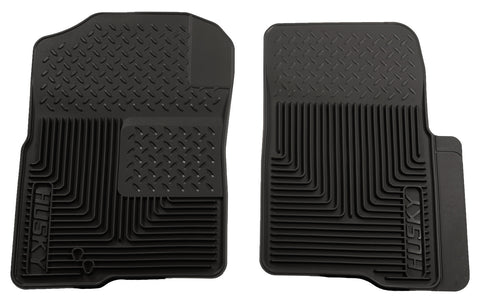 Husky Liners Heavy Duty Floor Mats - Black 51231 HUS51231