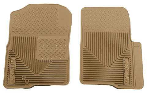 Husky Liners Heavy Duty Floor Mats - Tan 51233 HUS51233