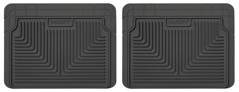 Husky Liners Heavy Duty Floor Mats - Black 52021 HUS52021