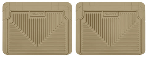 Husky Liners Heavy Duty Floor Mats - Tan 52023 HUS52023