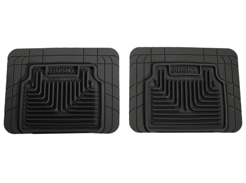 Husky Liners Heavy Duty Floor Mats - Black 52031 HUS52031