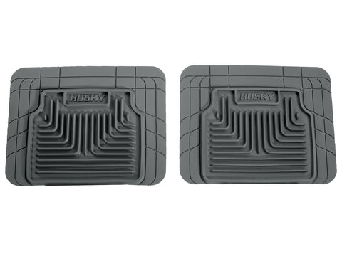 Husky Liners Heavy Duty Floor Mats - Grey 52032 HUS52032