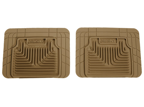 Husky Liners Heavy Duty Floor Mats - Tan 52033 HUS52033