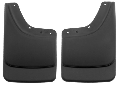 Husky Liners Rear Mud Guards - Black 57061 HUS57061