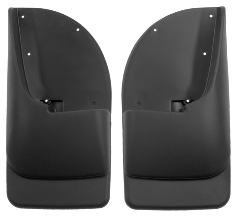 Husky Liners Rear Mud Guards - Black 57401 HUS57401