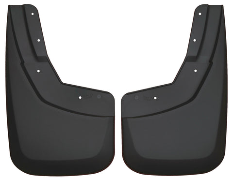 Husky Liners Rear Mud Guards - Black 57711 HUS57711