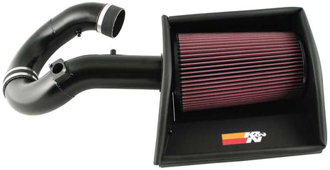 K&N Performance Intake Kits - Textured Black 77-3063KTK KNN77-3063KTK