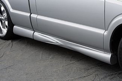 Street Scene Short Bed Extended Cab Side Skirts 950-70185 SSE70185