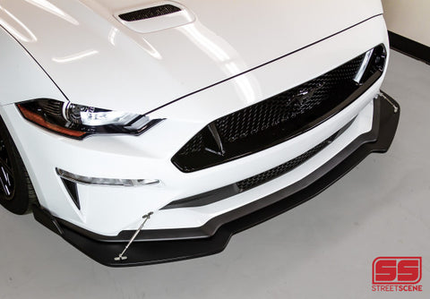 2018-2019 Ford Mustang GT Front Splitter [Unpainted] - 950-70615