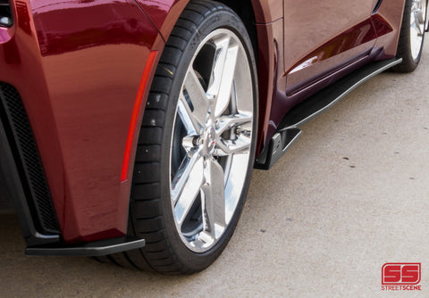 2014-2019 Corvette C7 Side Skirts w/ Rear Corners