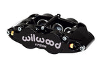 Wilwood BMW Z3 Forged Narrow Superlite 6R Front Big Brake Kit (Hat) Black Calipers Drilled & Slotted Rotors