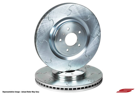 Infiniti / Nissan Rear Chicane Series 1-Piece Sport Rotors - Sport Brakes (Set of 2) SKU# INF3101CS