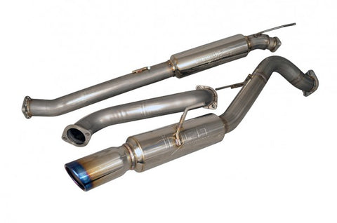 Ford Fiesta ST Exhaust | Injen SES9016RS Burnt Tip Cat-Back Exhaust System