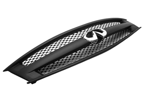 2008-2013 Infiniti G37 Coupe - STILLEN Grille Assembly w/Gloss Black Speed Grille Mesh - KB11926G