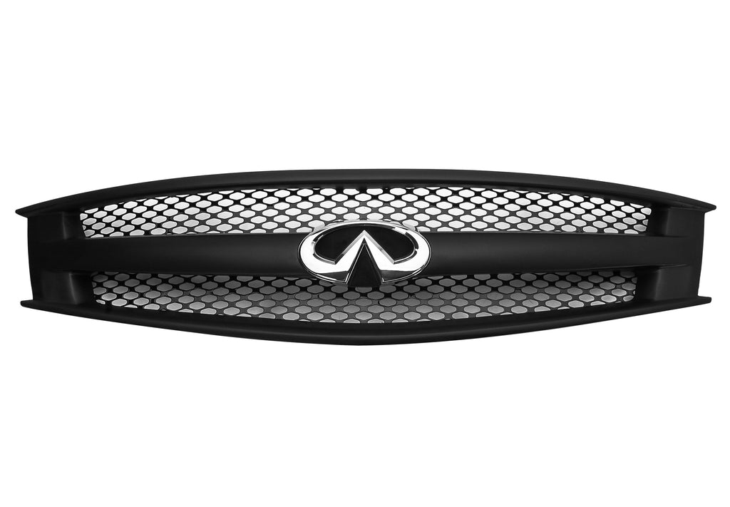 2008 2013 Infiniti G37 Coupe Grille Assembly W Gloss Black Speed Gri