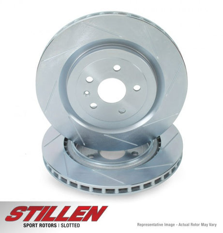 2011-2013 Mini Cooper Countryman & 2013 Mini Cooper Paceman Front Slotted Brake Rotors | STILLEN MIN2400S