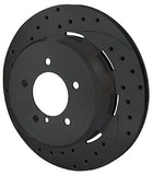 Wilwood BMW M3 Dynapro Rear Brake Kit For OE Parking Brake Red Caliper Drilled & Slotted Rotors