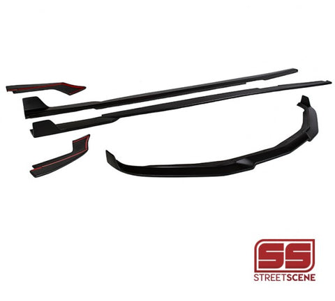 2016-2017 Chevrolet 6th Gen Camaro Body Kit - [SS] (5 Pc Kit) Unpainted - Street Scene SSE70248